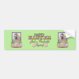 Easter Egg Cookies - Maltese Bumper Stickers