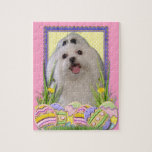 Easter Egg Cookies - Maltese Jigsaw Puzzle
