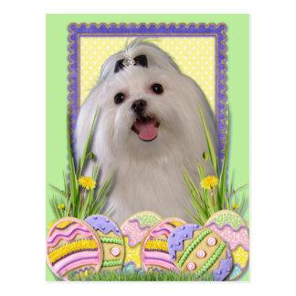 Easter Egg Cookies - Maltese Postcards