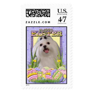 Easter Egg Cookies - Maltese Stamp