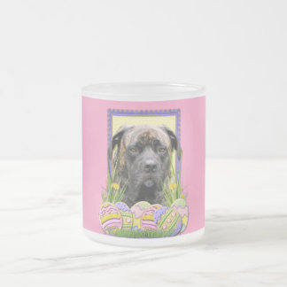 Easter Egg Cookies - Mastiff Frosted Glass Coffee Mug