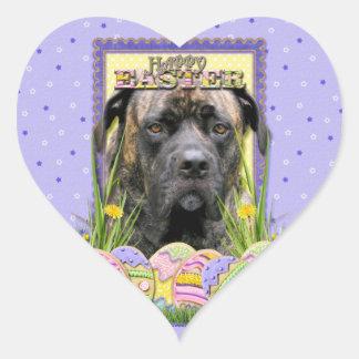 Easter Egg Cookies - Mastiff Heart Sticker