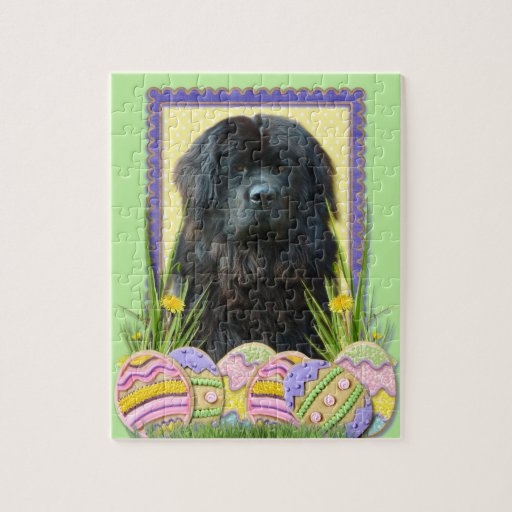 Easter Egg Cookies - Newfoundland Jigsaw Puzzles