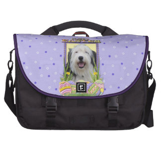 Easter Egg Cookies - Old English Sheepdog Laptop Bags