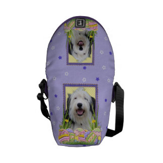 Easter Egg Cookies - Old English Sheepdog Courier Bags