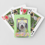 Easter Egg Cookies - Old English Sheepdog Card Decks