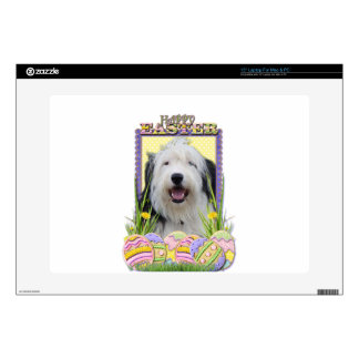 Easter Egg Cookies - Old English Sheepdog Decals For Laptops