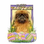 Easter Egg Cookies - Pekingese - Pebbles Acrylic Cut Out