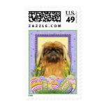 Easter Egg Cookies - Pekingese - Pebbles Stamps