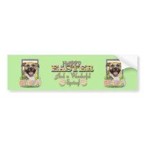 Easter Egg Cookies - Pitbull - Tigger Bumper Sticker