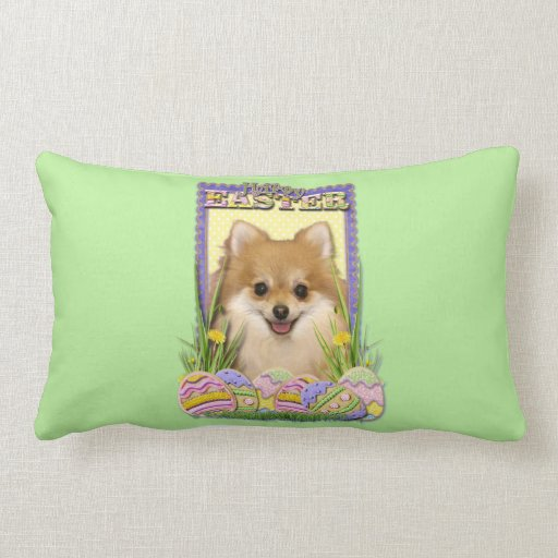 Easter Egg Cookies - Pomeranian Pillows
