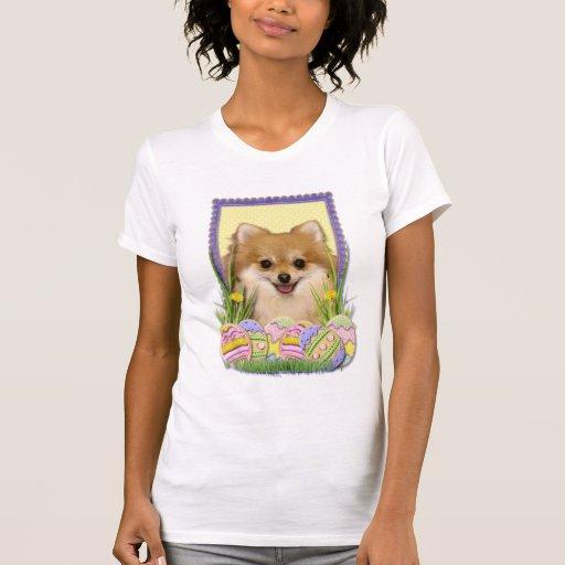 Easter Egg Cookies - Pomeranian Tee Shirt