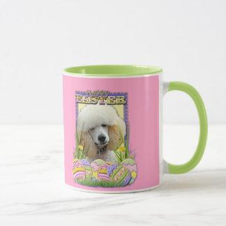 Easter Egg Cookies - Poodle - Apricot Mug