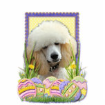 Easter Egg Cookies - Poodle - Apricot Photo Cut Outs