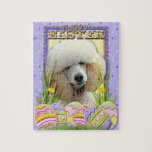 Easter Egg Cookies - Poodle - Apricot Jigsaw Puzzles