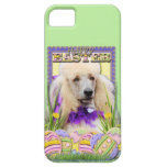 Easter Egg Cookies - Poodle - Champagne iPhone 5 Cases