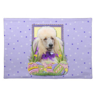 Easter Egg Cookies - Poodle - Champagne Placemat