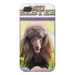 Easter Egg Cookies - Poodle - Chocolate iPhone 4/4S Cover