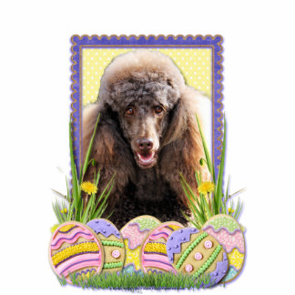 Easter Egg Cookies - Poodle - Chocolate Statuette