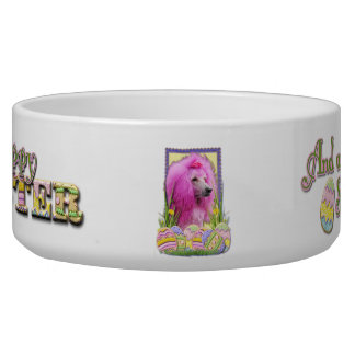 Easter Egg Cookies - Poodle - Pink Bowl