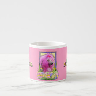 Easter Egg Cookies - Poodle - Pink Espresso Cup