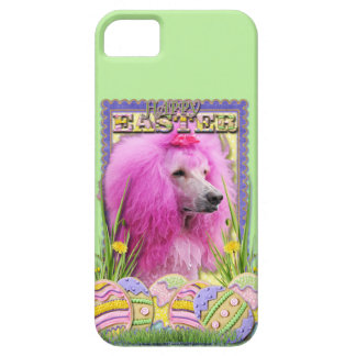 Easter Egg Cookies - Poodle - Pink iPhone SE/5/5s Case