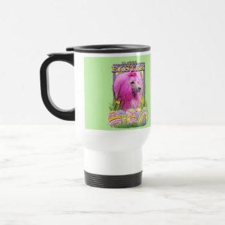 Easter Egg Cookies - Poodle - Pink Travel Mug