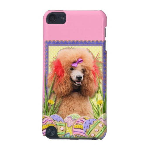 Easter Egg Cookies - Poodle - Red iPod Touch (5th Generation) Cover