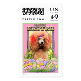 Easter Egg Cookies - Poodle - Red Postage