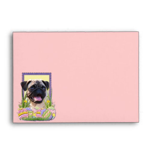 Easter Egg Cookies - Pug Envelopes