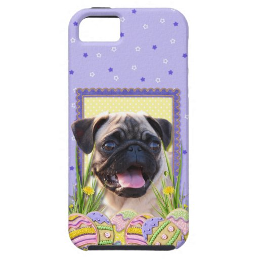 Easter Egg Cookies - Pug iPhone 5 Covers