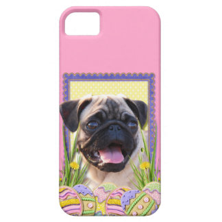 Easter Egg Cookies - Pug iPhone SE/5/5s Case