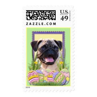Easter Egg Cookies - Pug Postage
