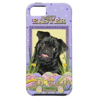 Easter Egg Cookies - Pug - Ruffy iPhone SE/5/5s Case