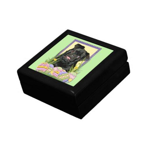 Easter Egg Cookies - Pug - Ruffy Keepsake Boxes