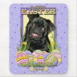 Easter Egg Cookies - Pug - Ruffy Mouse Pad
