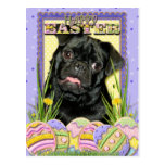 Easter Egg Cookies - Pug - Ruffy Postcard