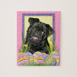 Easter Egg Cookies - Pug - Ruffy Puzzle