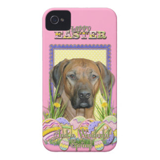 Easter Egg Cookies - Rhodesian Ridgeback iPhone 4 Case-Mate Case