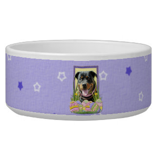 Easter Egg Cookies - Rottweiler Bowl