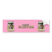 Easter Egg Cookies - Rottweiler Bumper Sticker