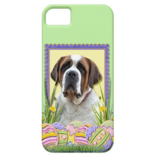 Easter Egg Cookies - Saint Bernard iPhone SE/5/5s Case