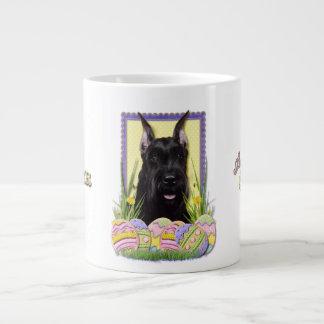 Easter Egg Cookies - Schnauzer Large Coffee Mug