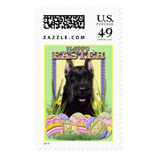 Easter Egg Cookies - Schnauzer Stamp