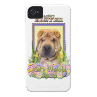 Easter Egg Cookies - Shar Pei Case-Mate iPhone 4 Case