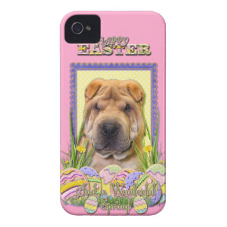 Easter Egg Cookies - Shar Pei iPhone 4 Cover