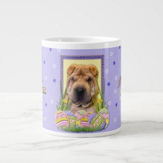 Easter Egg Cookies - Shar Pei Jumbo Mug