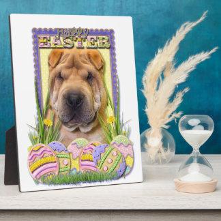 Easter Egg Cookies - Shar Pei Plaque