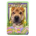 Easter Egg Cookies - Shar Pei Vinyl Magnet