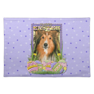 Easter Egg Cookies - Sheltie Placemat